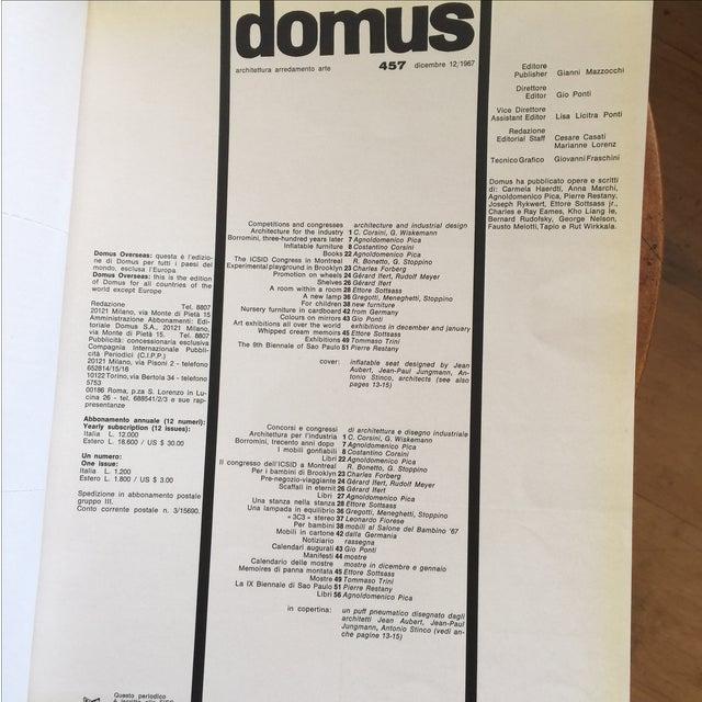 Domus Magazine 1967 Geo Ponti - Image 4 of 10