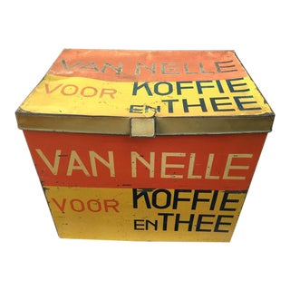 De Stijl Van Nelle Coffee or Tea Storage Container by Jacques Jongert, 1931