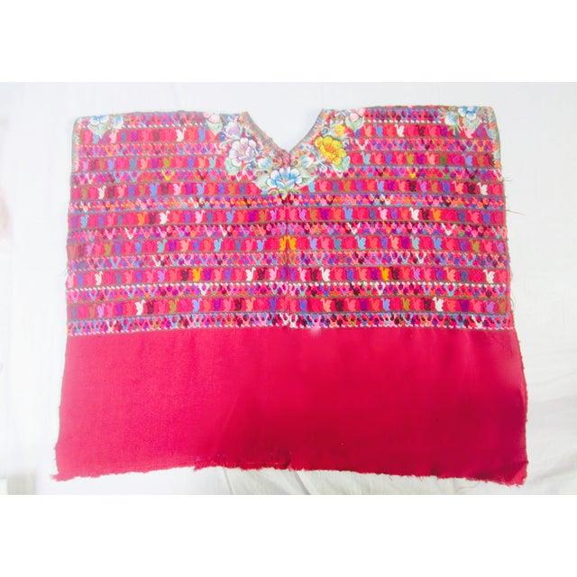 Guatemalan Fabric Boho Beach Textile - Image 4 of 10