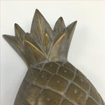 Image of Vintage Brass Pineapple Object
