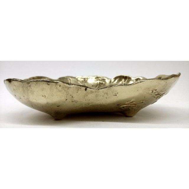 Vintage Geranium 1948 Solid Brass Trinket Dish - Image 8 of 9