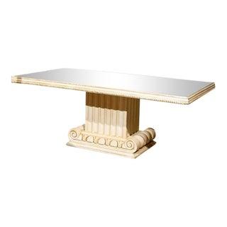 Grosfeld House Style Glass Top Coffee Table