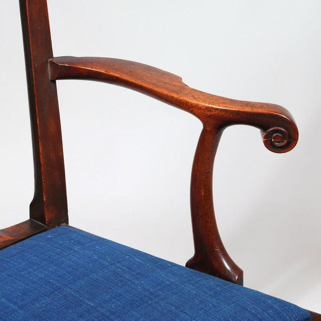 George III Mahogany Armchair - Image 6 of 8