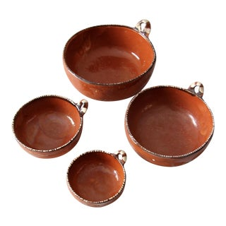 Mexican Pottery Nesting Bowls - Set of 4