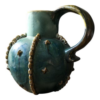 "1920's Denby England ""Emerald"" Pitcher"