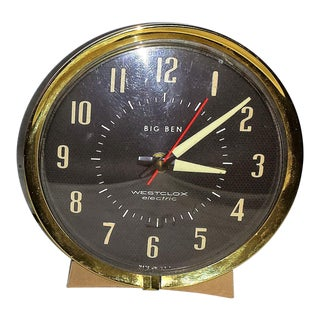 Vintage Westclox Electric Alarm Clock