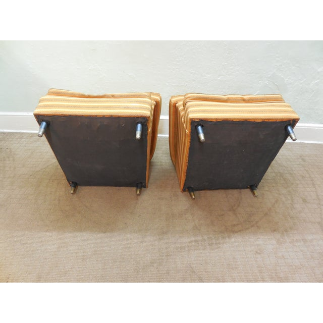Vintage Mid-Century Modern Lounge Chairs - A Pair - Image 9 of 10