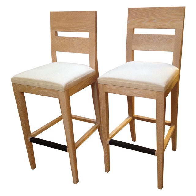 Christian Liagre Archipel Barstools - A Pair - Image 1 of 8