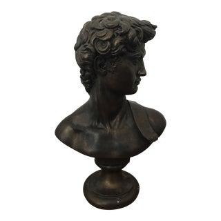 Plaster Bust Statue of David