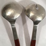 Image of Hammered Sterling and Rosewood Handle Serving Set