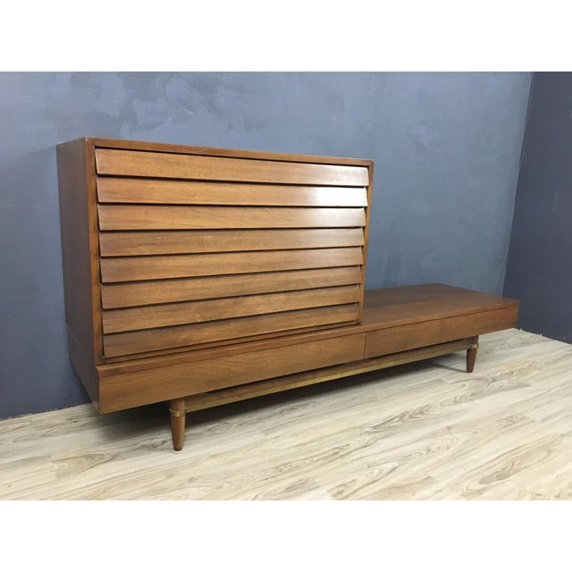Image of Merton Gershun Modular Drawer & Bench - A Pair