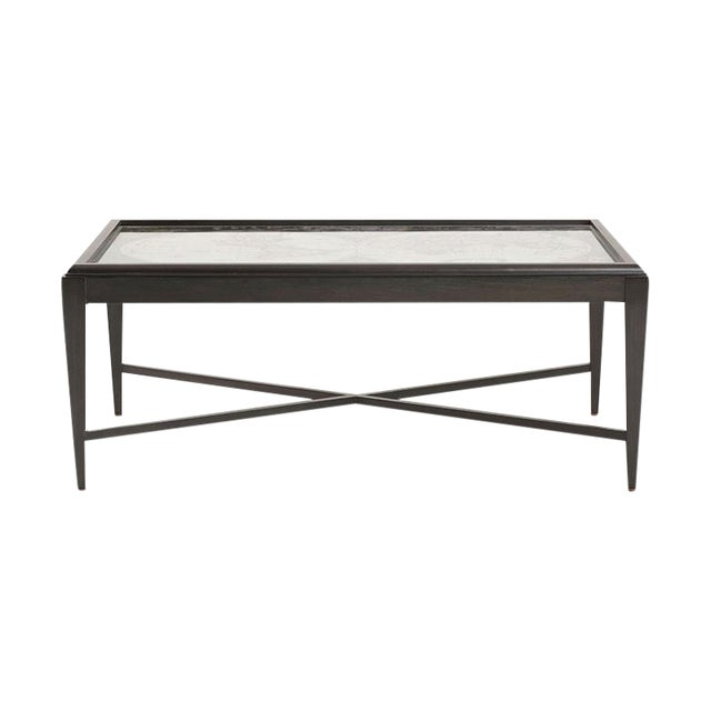 Inset World Map Explorer Coffee Table - Image 1 of 6
