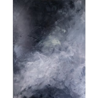 """""""Blackened Clouds"""" Abstract Art by Kris Gould"""
