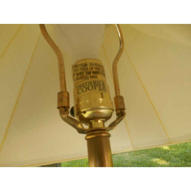 MCM Frederick Cooper Walnut Table Lamp - Image 5 of 5