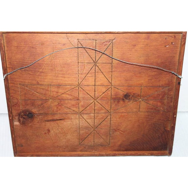 Early hand made 19th c. gameboard - Image 5 of 5