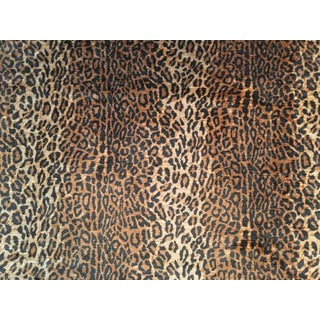 "Ralph Lauren ""Kano Silk Leopard"" Fabric Pieces - Set of 3"