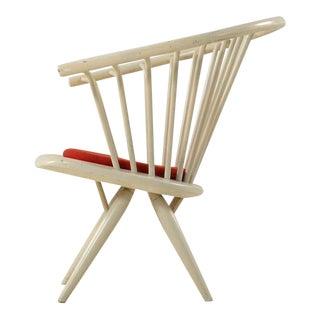 Crinolette chair by Ilmari Tapiovaara, labeled Asko