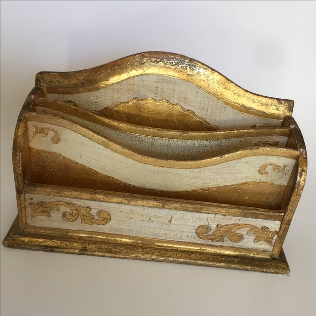 Florentine Letter Box - Image 2 of 11