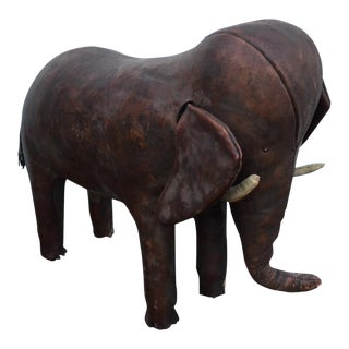 Dimitri Omersa Abercrombie Fitch Leather Elephant