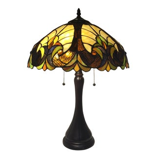 Tiffany Inspired Stained Glass Lamp