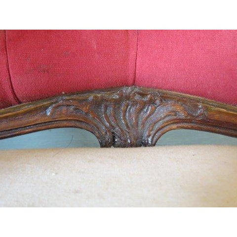 Image of Antique 1900s Louis XV Large Scale Armchair