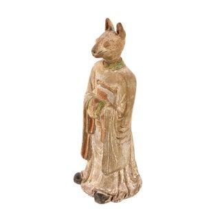 19th C. Chinese Rabbit Zodiac Figurine