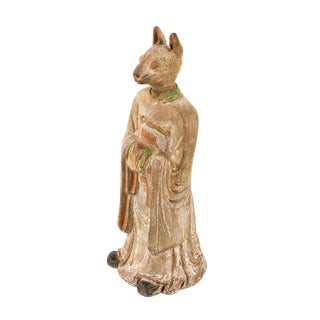 19th C. Chinese Rabbit Zodiac Figurine