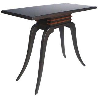 Paul Frankl Sabre Leg Console Table