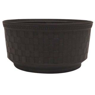 18th-C. Black Basalt Bowl