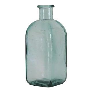 Antique Green Glass Bottle