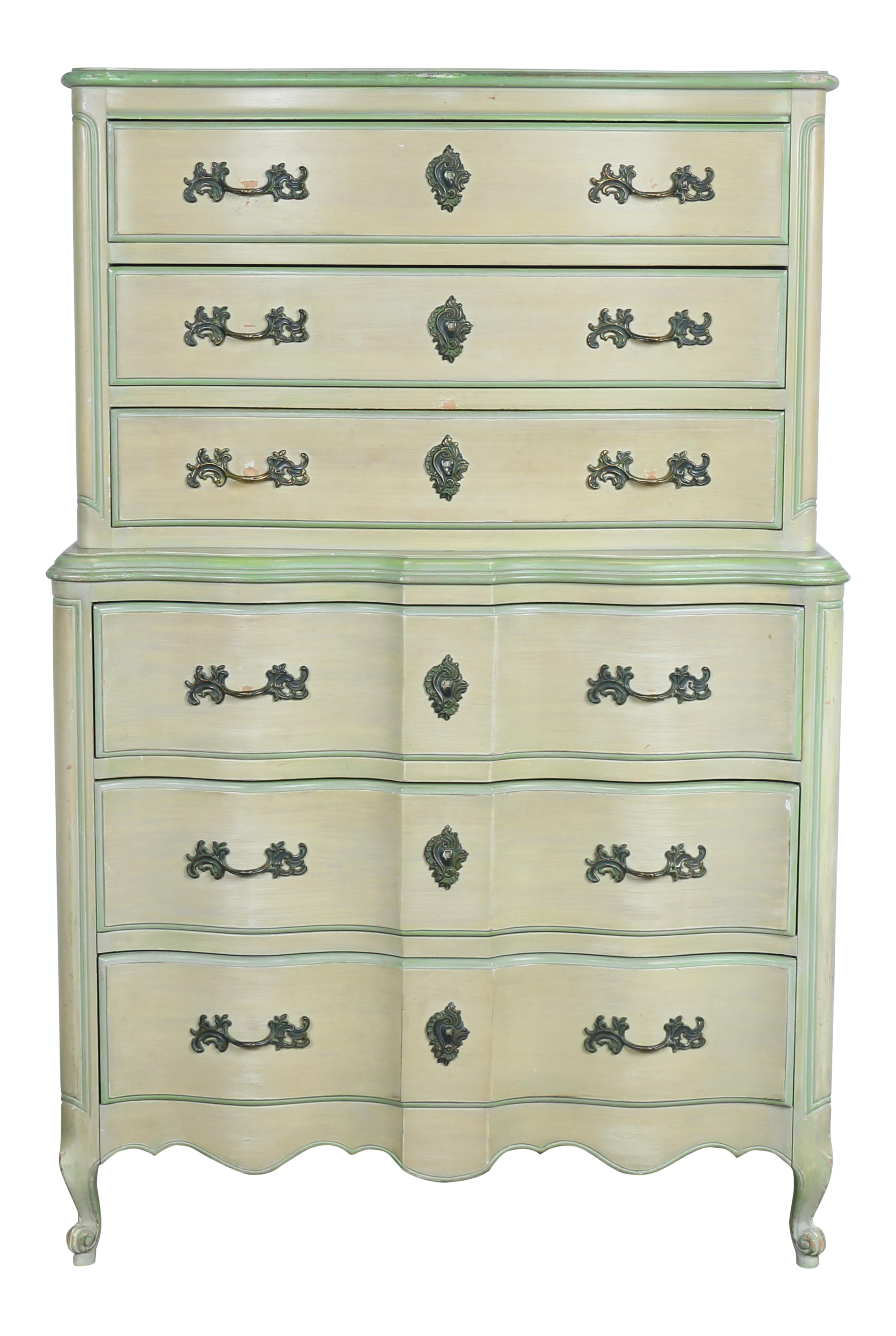 Dixie Furniture Highboy Dresser