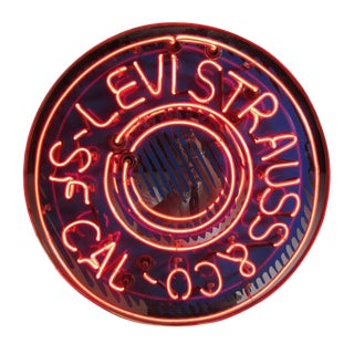 Levi Strauss & Co. Neon Sign
