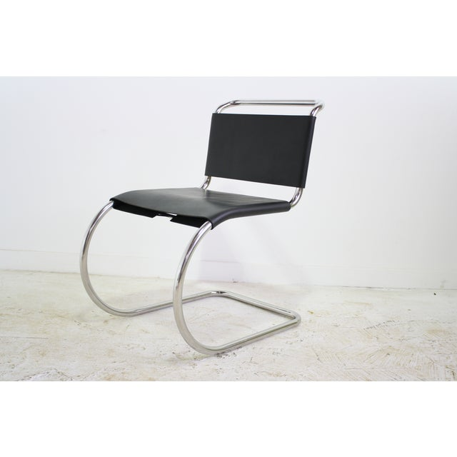 Mies Van Der Rohe Leather Cantilever Chair 5 Avail - Image 2 of 6
