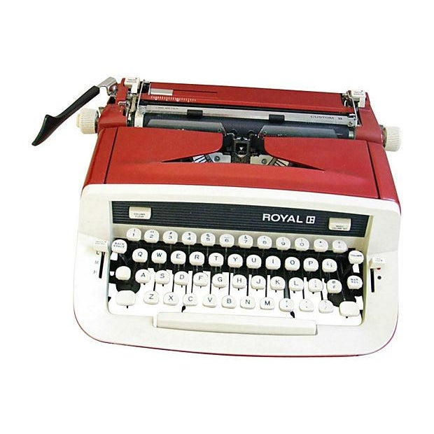 Vintage 1970s Royal Custom II Typewriter & Case - Image 1 of 7