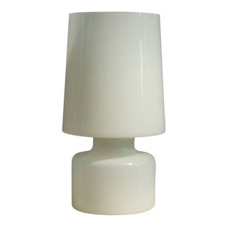 Murano Glass Table Lamp in the Style of Fontana Arte