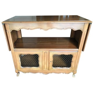 John Widdicomb French Provincial Serving Cart