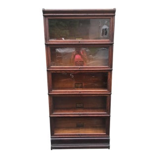 Ober & Wernicke Mission Style Bookcase