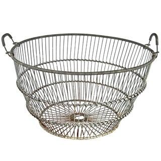 Galvanized Wire Basket