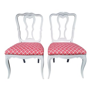 Provincial French Accent Chairs - A Pair