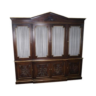 Adams Style Bookcase Cabinet