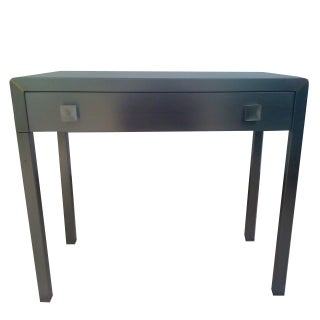 Norman Bel Geddes 1940s Steel Table