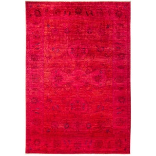 "Vibrance, Hand Knotted Area Rug - 6'1"" X 8'10"""