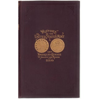 """History of US Mint & American Coinage"" Victorian Book"