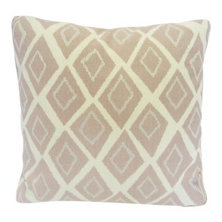 Mid-Century Geometric Pink Pillow
