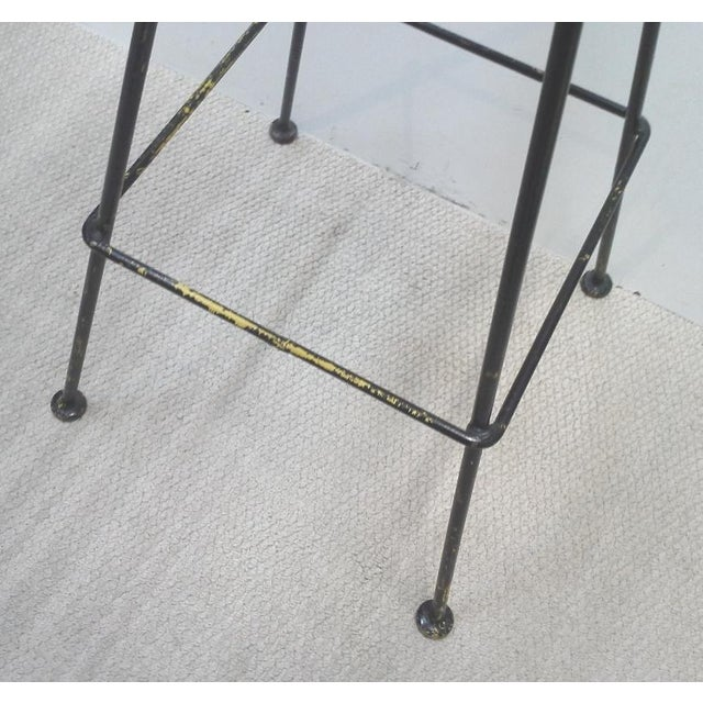 Woodard Scrolled Back Iron Bar Stools - A Pair - Image 7 of 7