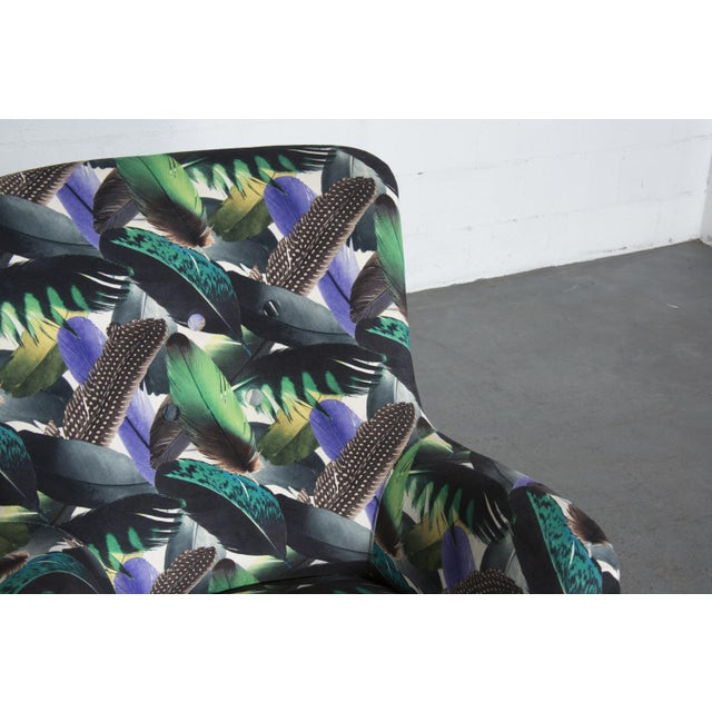 Theo Ruth Armchair Feather Upholstery - Image 7 of 10