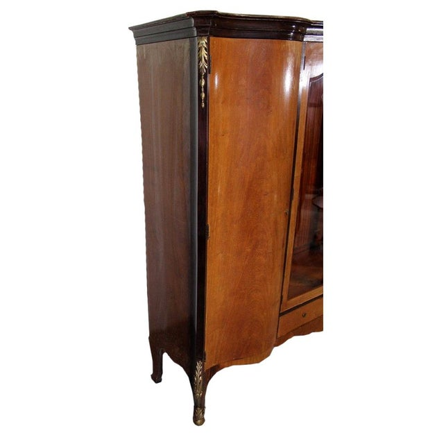 Louis XV Bronze Banded Armoire - Image 3 of 10