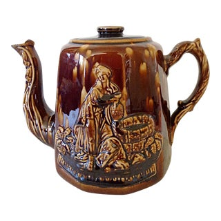 19th C. Rockingham Treacle Teapot
