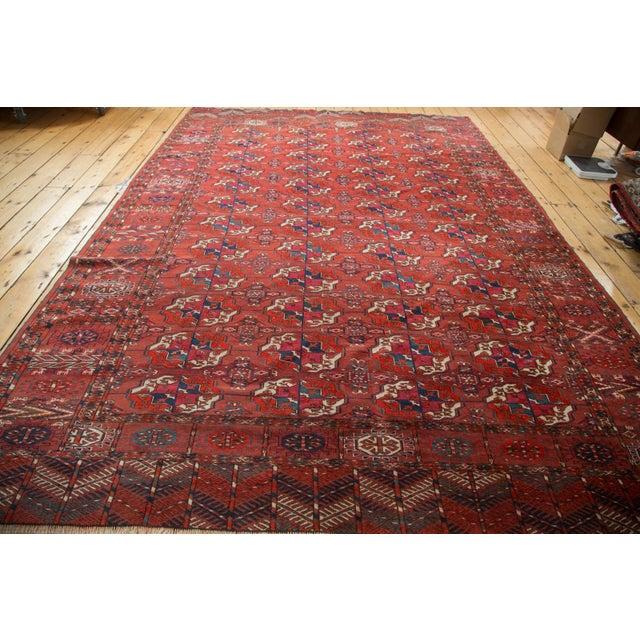 "Antique Tekke Bokhara Carpet - 6'11"" X 10' - Image 6 of 10"