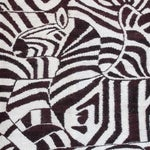Image of Large African Mohair Zebra Wall Hanging